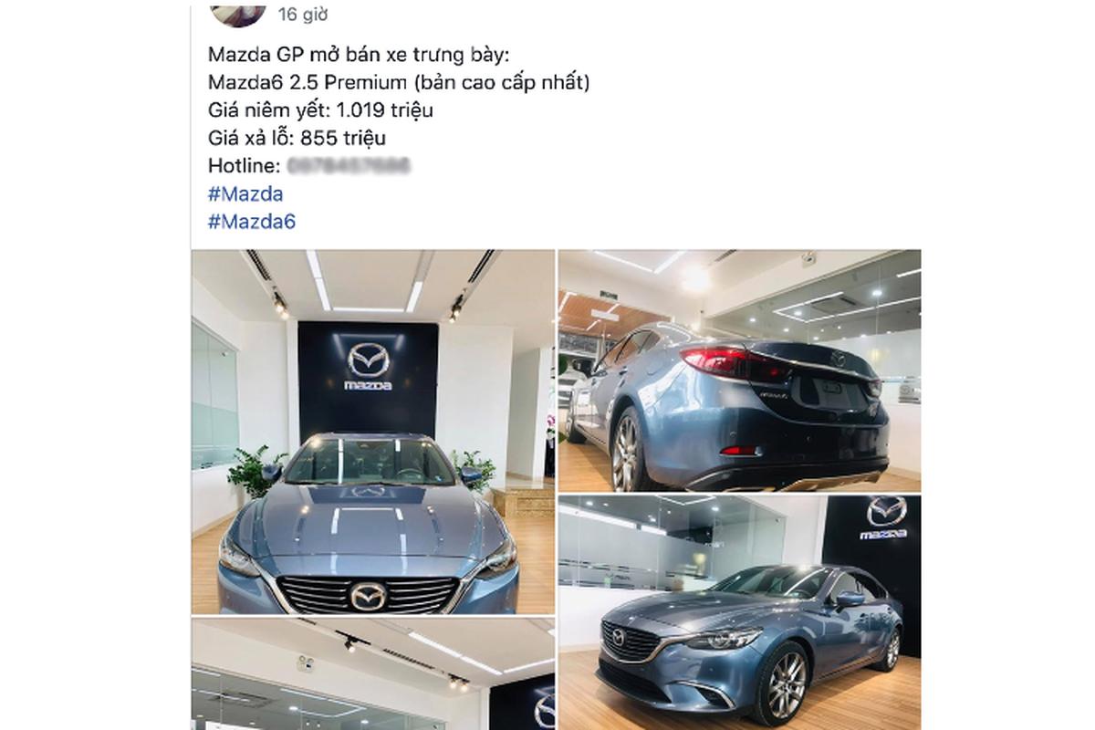 Dai ly chao ban Mazda6 trung bay, re hon 160 trieu dong mua moi-Hinh-3