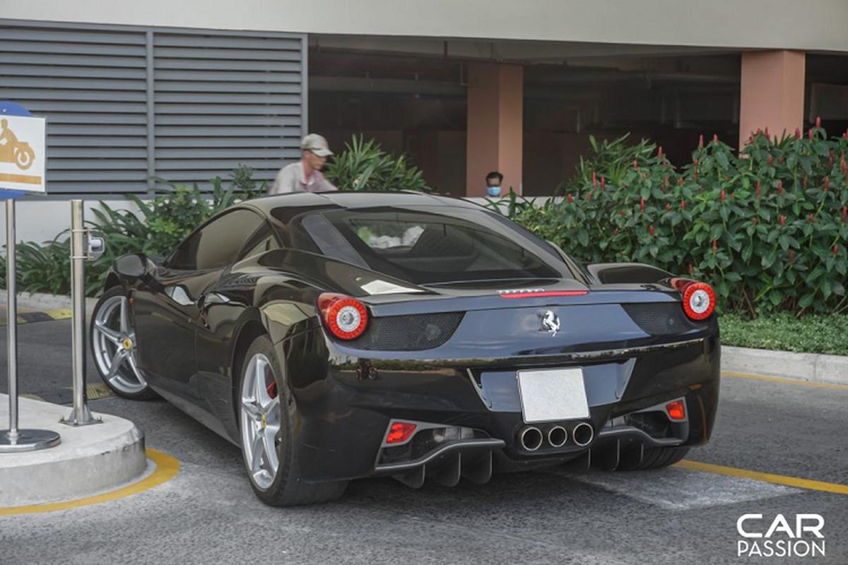 """Sieu ngua"" Ferrari 458 Italia dau tien ve Viet Nam tai xuat-Hinh-2"