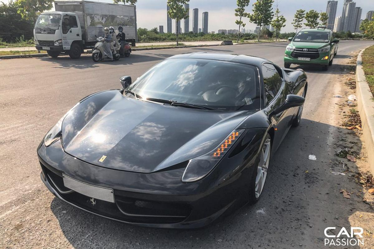 """Sieu ngua"" Ferrari 458 Italia dau tien ve Viet Nam tai xuat-Hinh-7"