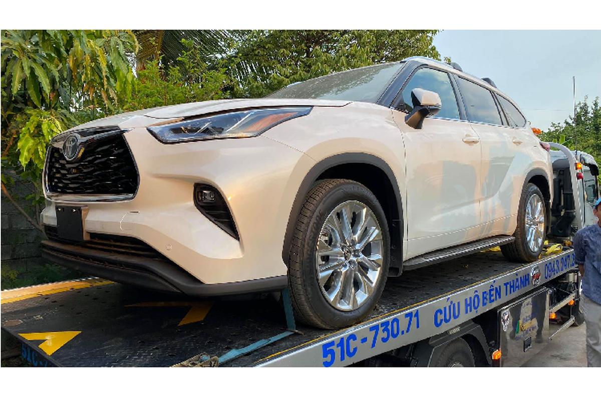 Toyota Highlander 2020 ve Viet Nam, khong duoi 4 ty dong