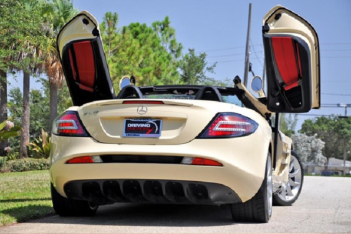 Mercedes-Benz SLR McLaren mau son Elfenbein doc nhat the gioi-Hinh-8