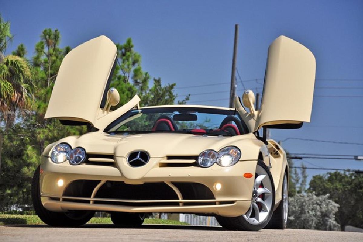 Mercedes-Benz SLR McLaren mau son Elfenbein doc nhat the gioi