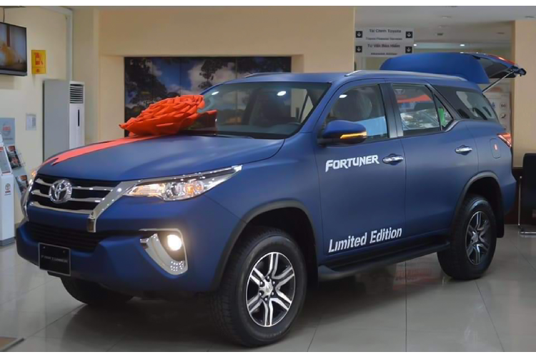 Toyota Fortuner Limited Edition