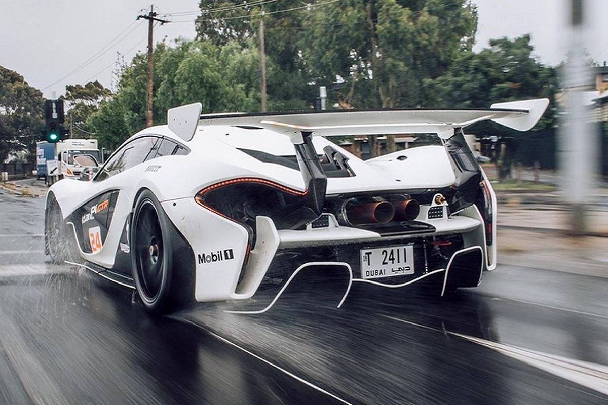 """Sieu xe """"2 trong 1"""" McLaren P1 GTR lan dau luot pho-Hinh-3"""