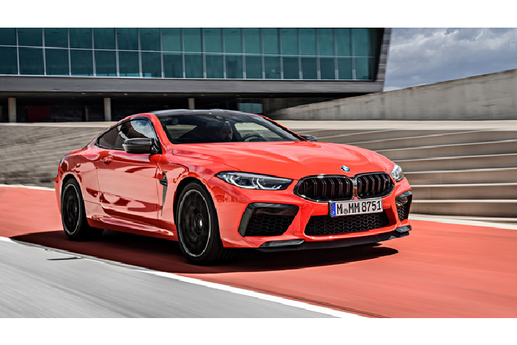 BMW M8 Competition ve Viet Nam co gia gan 13 ty dong