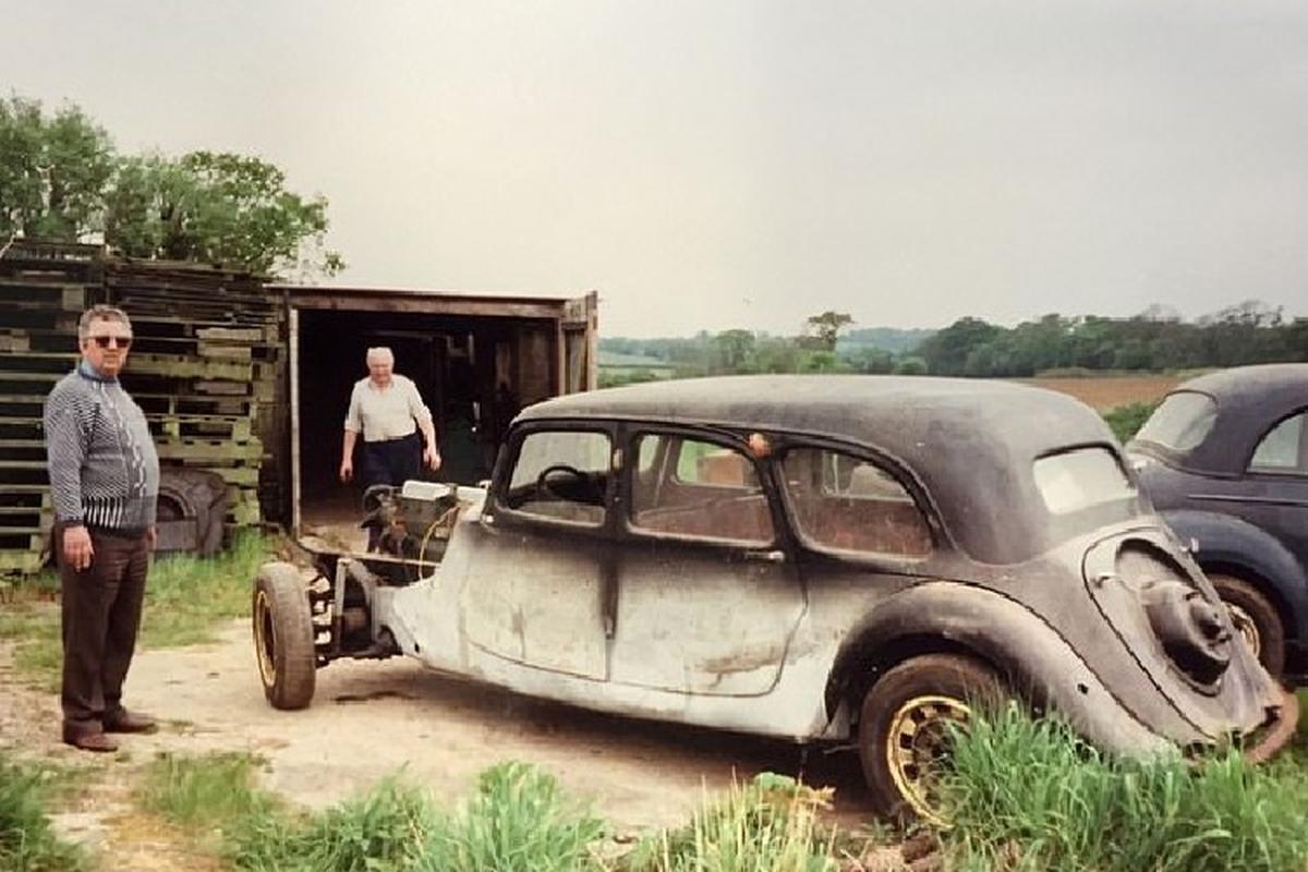 Dan choi mat 35 nam, tien ty de phuc che limousine Citroen 1939-Hinh-4