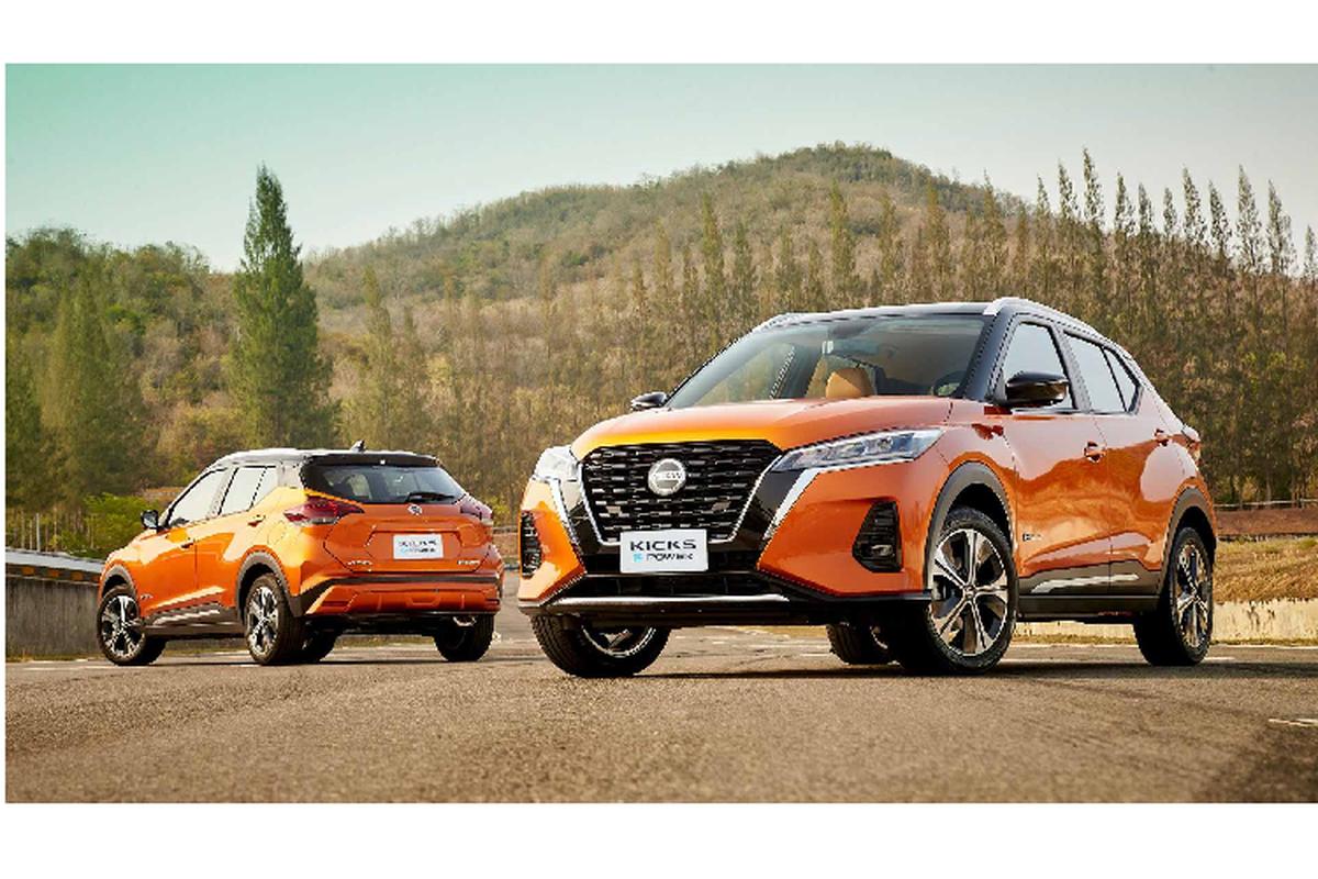 Ra mat Nissan Kicks E-Power moi, tu 647 trieu dong tai Thai Lan