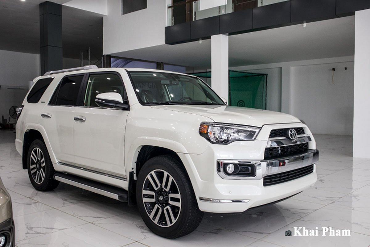 Chi tiet Toyota 4Runner Limited nhap My, gan 4 ty tai Viet Nam