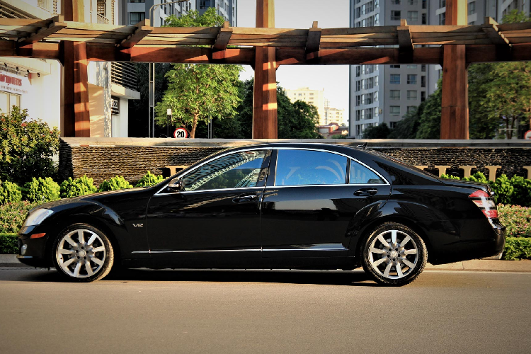 Can canh Mercedes-Benz S600 V12 chi 1,3 ty dong o Ha Noi-Hinh-9