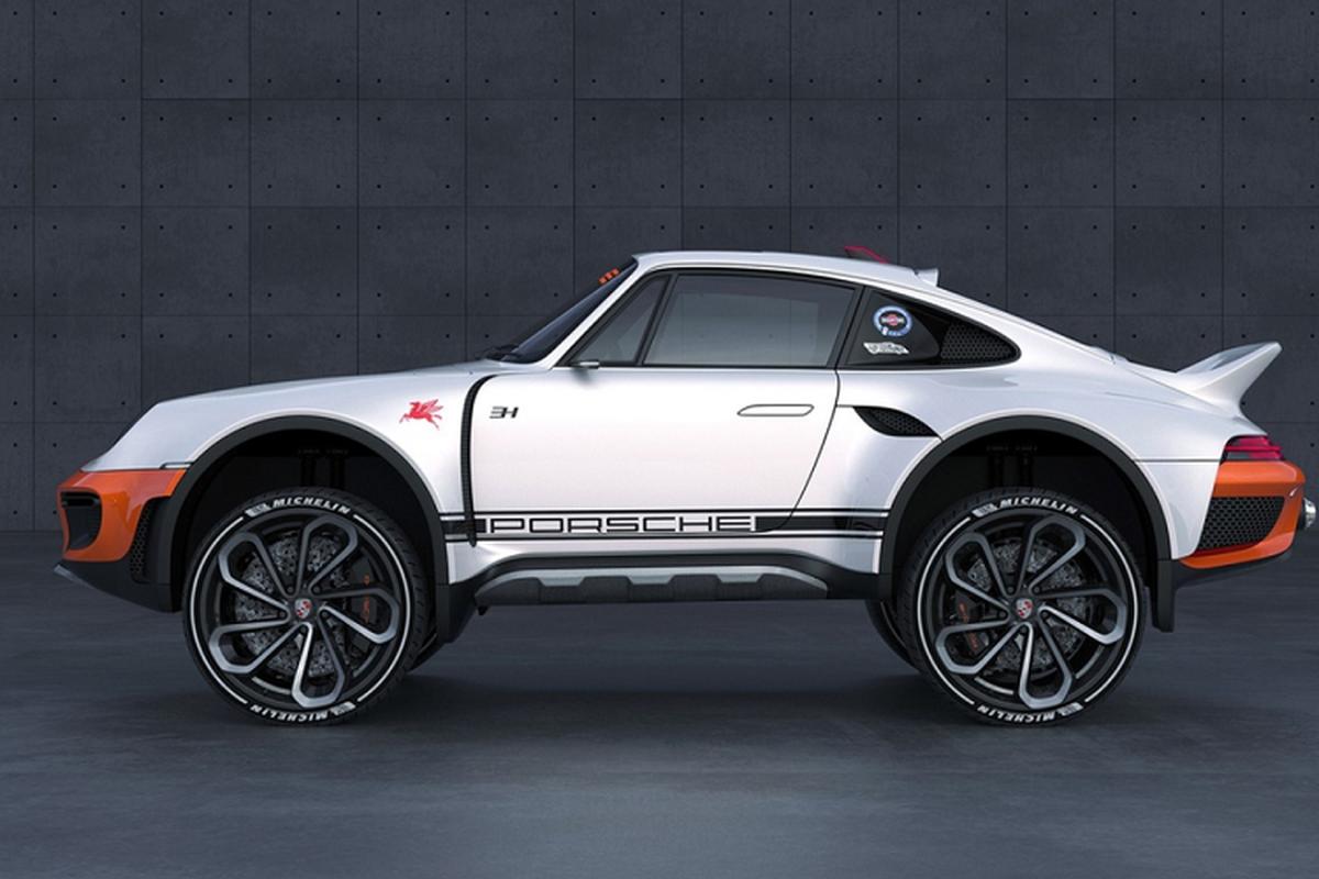 Sieu xe Porsche 911 Turbo do phong cach offroad
