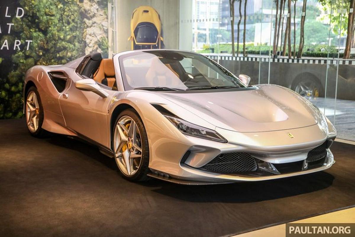 Sieu pham Ferrari F8 Spider tu 6,5 ty dong tai Dong Nam A