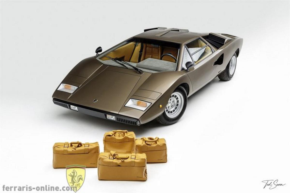 Chi tiet sieu xe Lamborghini Countach Periscopio cuc hiem