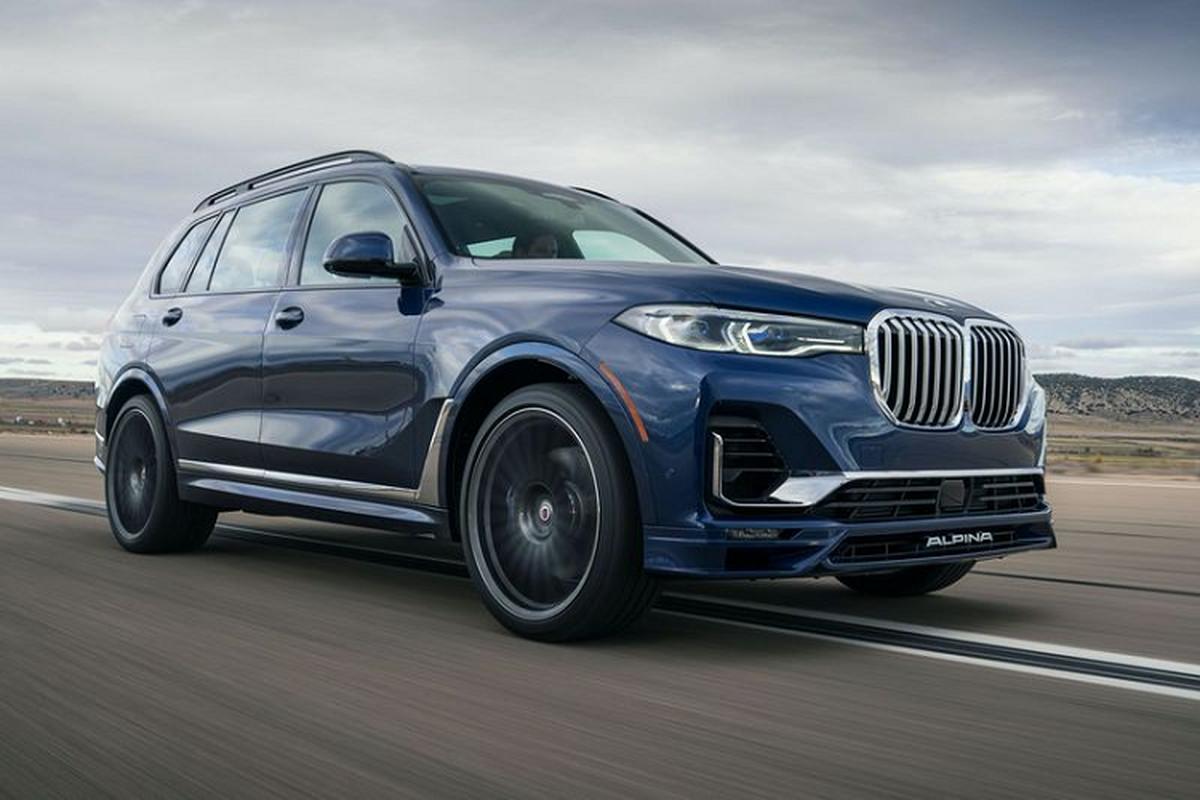 Ra mat SUV BMW XB7 2021 hoan toan moi, tu 3,3 ty dong