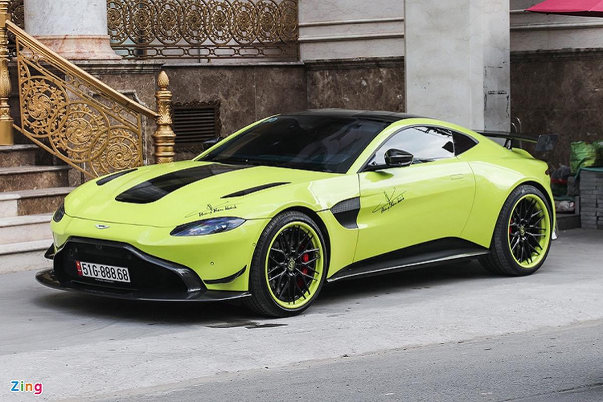 Aston Martin Vantage dau tien tai Viet Nam do mam hang doc