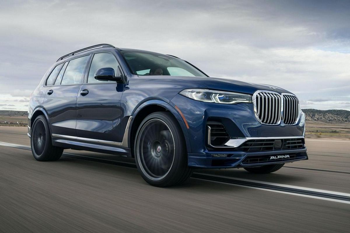 BMW Alpina XB7 2021 tu 3,29 ty dong tai thi truong My