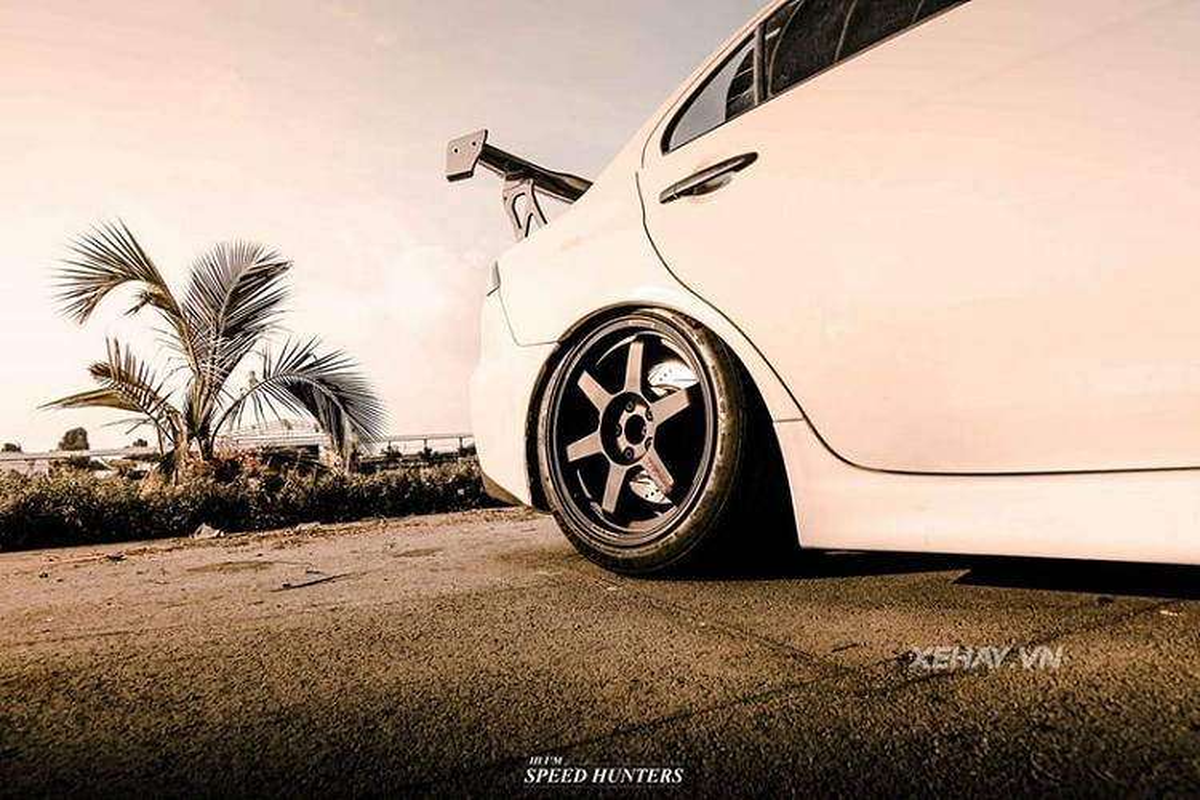 Hang hiem Mitsubishi Lancer Evolution X khoe dang o Sai Gon-Hinh-3