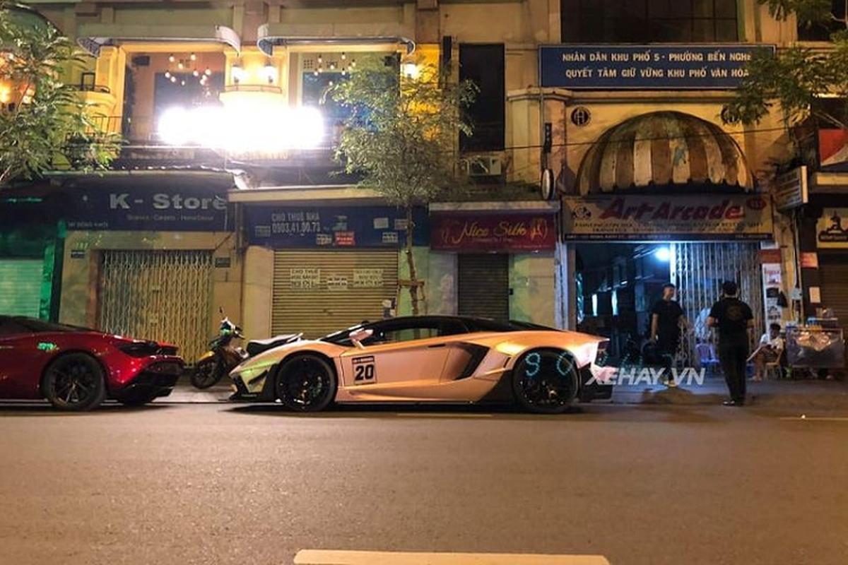 Ngam Lamborghini Aventador do Liberty Walk doc nhat Viet Nam-Hinh-4
