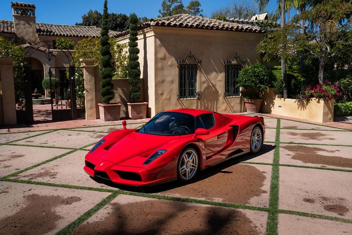 Dau gia sieu xe Ferrari Enzo hang hiem gioi han chi 400 chiec
