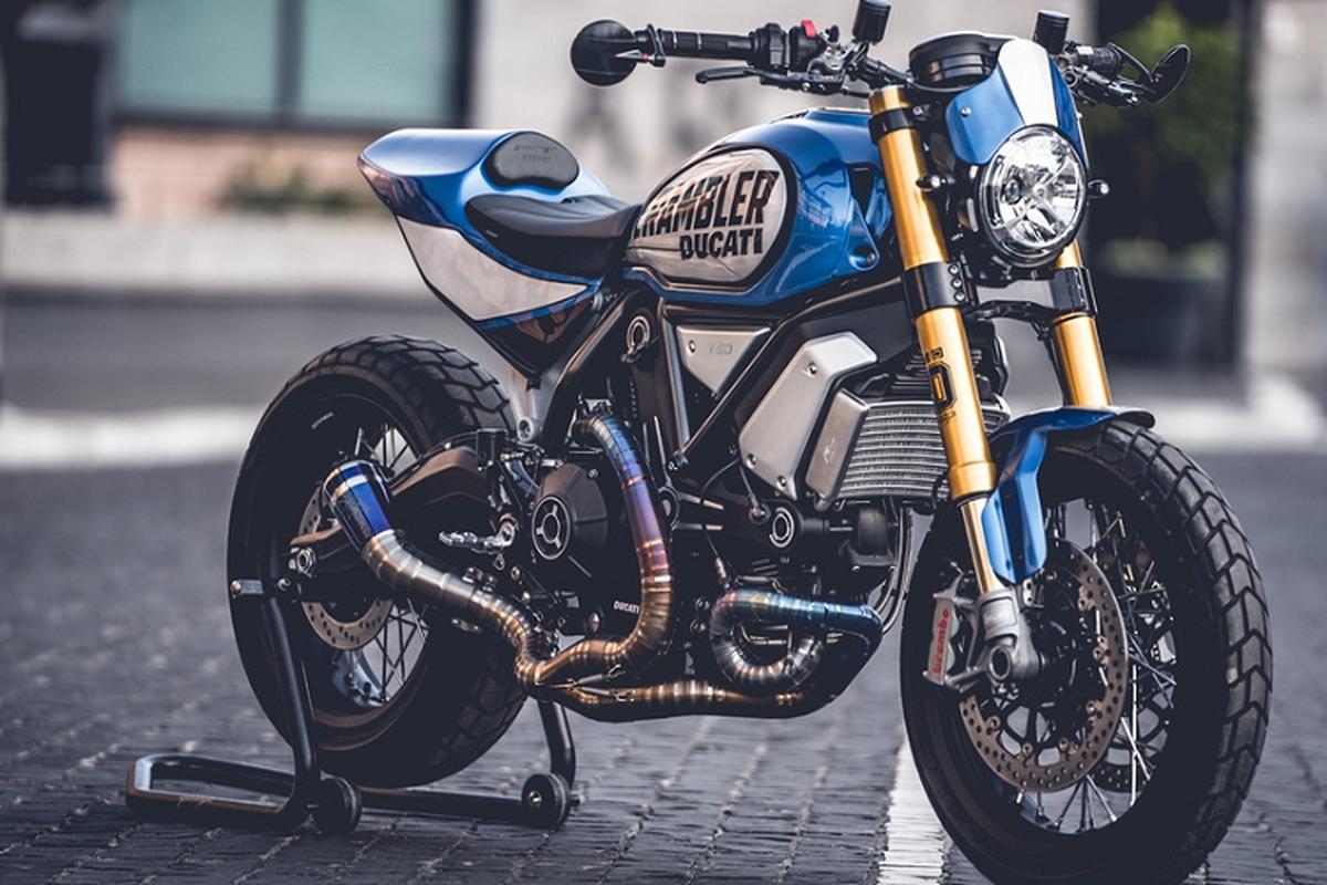 Chiem nguong Ducati Scrambler 1100 thang giai do xe toan cau