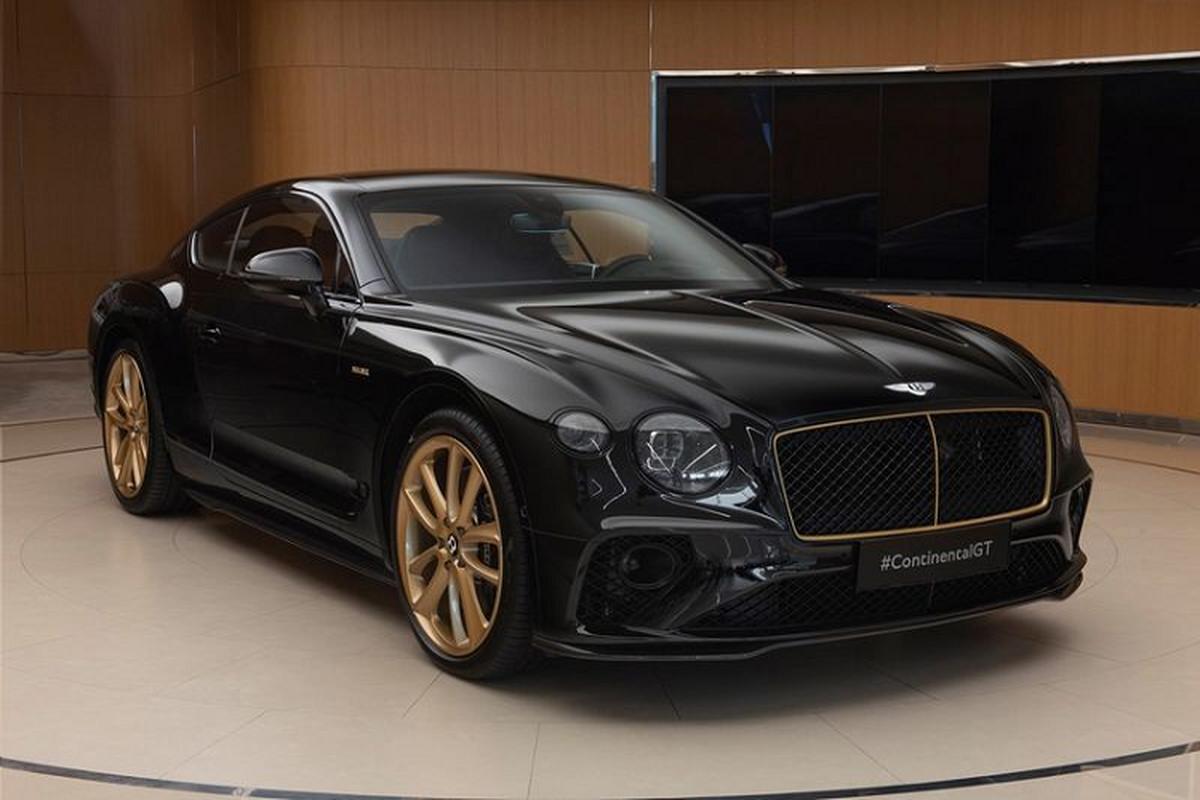 Ra mat Bentley Continental GT Aurum Edition ma vang 10 chiec