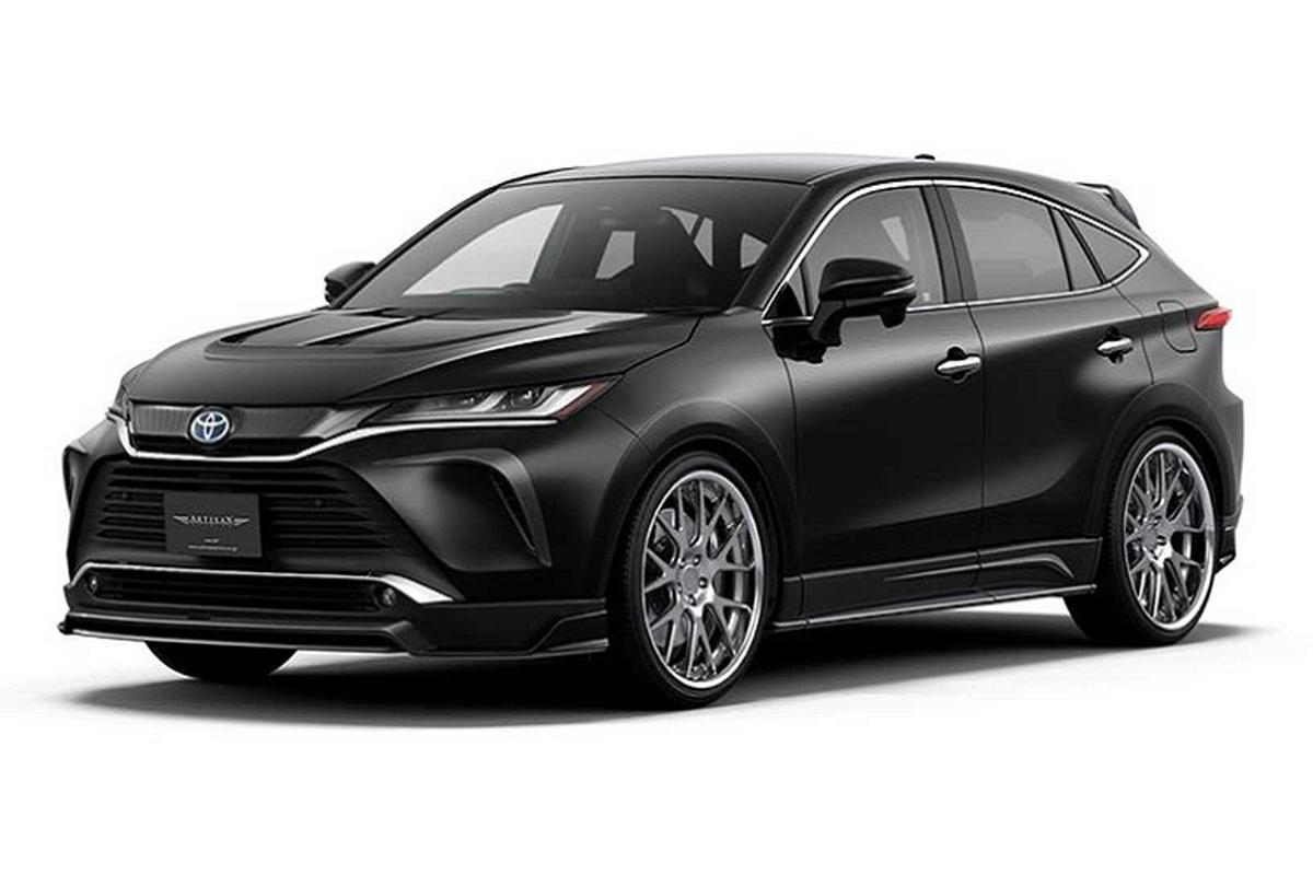 Vua ra mat, Toyota Venza 2021 da co goi do bodykit cuc ngau