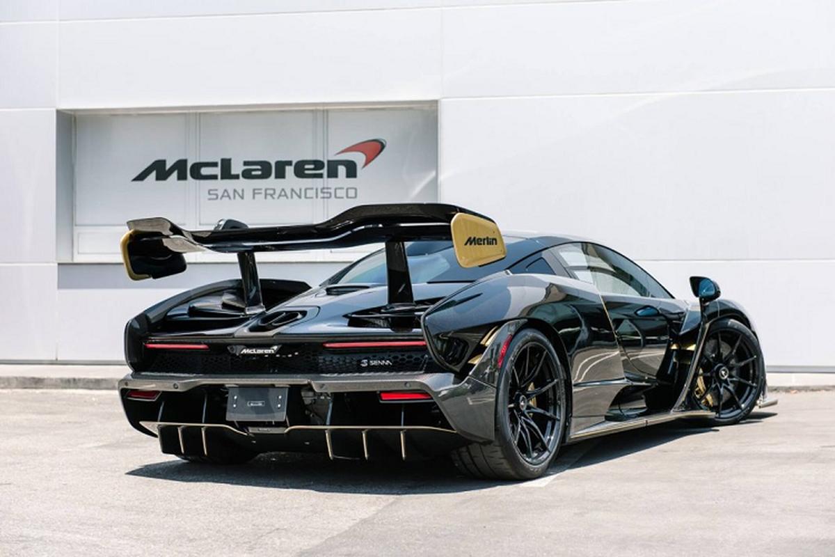 Sieu xe McLaren Senna Merlin – phong cach truyen thuyet vua Arthur-Hinh-3