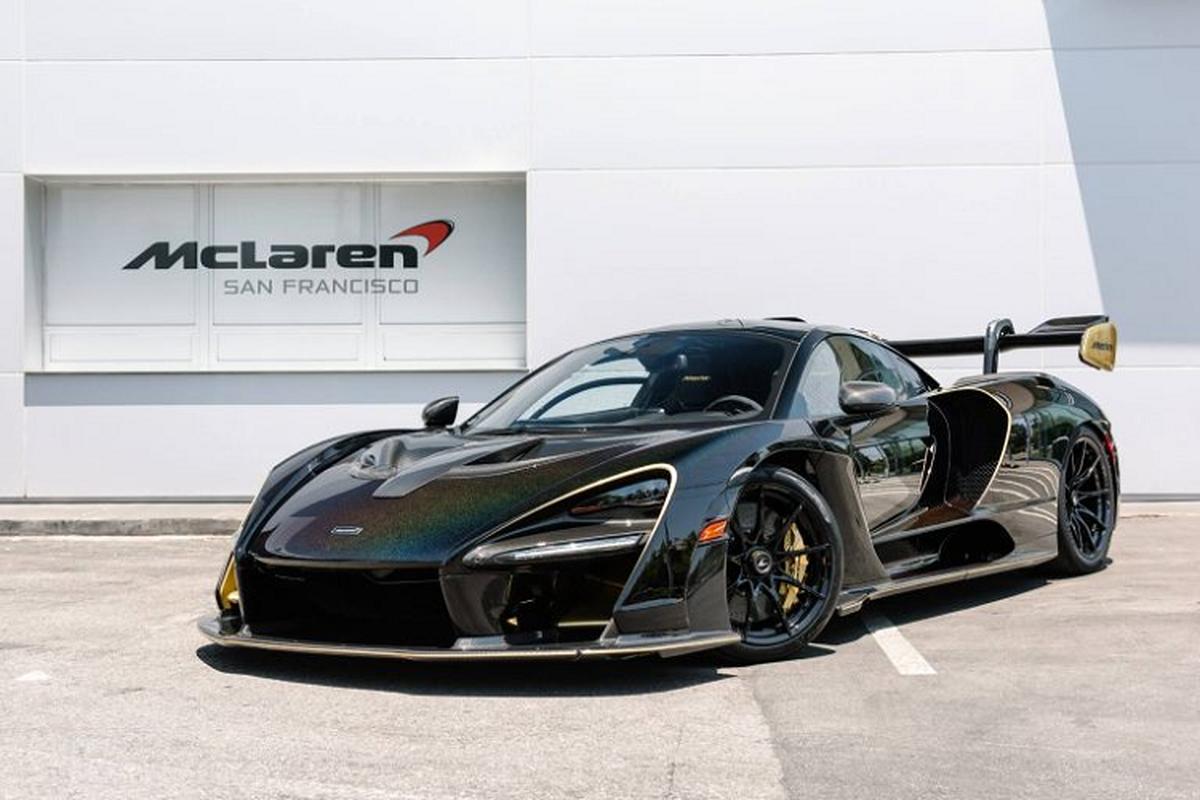 Sieu xe McLaren Senna Merlin – phong cach truyen thuyet vua Arthur