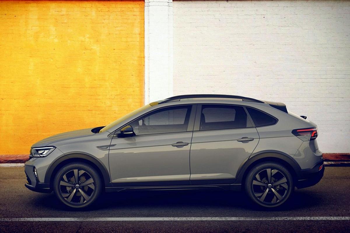 Ven man Volkswagen Nivus 2021, crossover lai coupe nho xinh-Hinh-3
