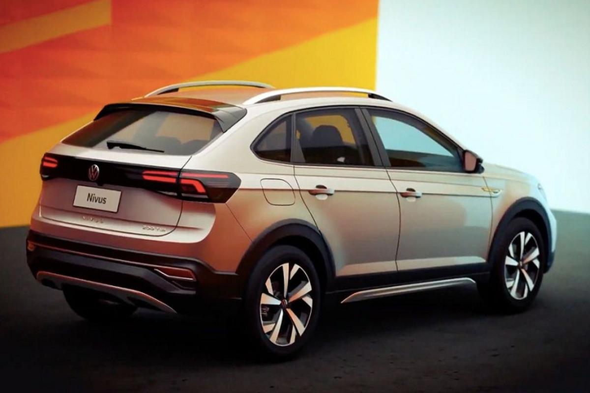 Ven man Volkswagen Nivus 2021, crossover lai coupe nho xinh-Hinh-5