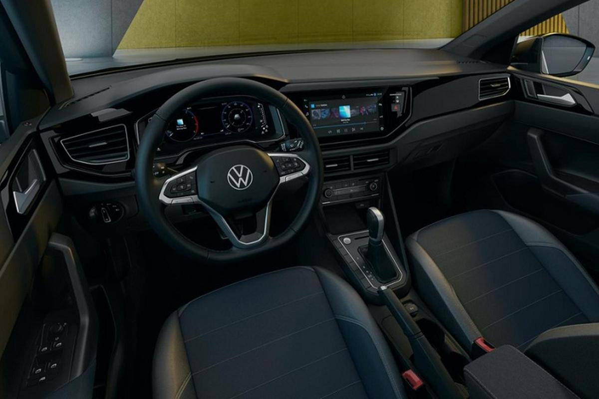 Ven man Volkswagen Nivus 2021, crossover lai coupe nho xinh-Hinh-6