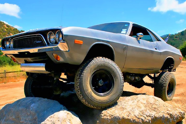 """Dodge Challenger 4x4 1972 off-road """"vo doi"""" chi 675 trieu dong-Hinh-6"""