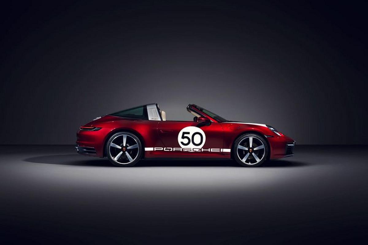 Porsche ra mat 911 Targa 4S Heritage Design Edition hon 4 ty dong-Hinh-7