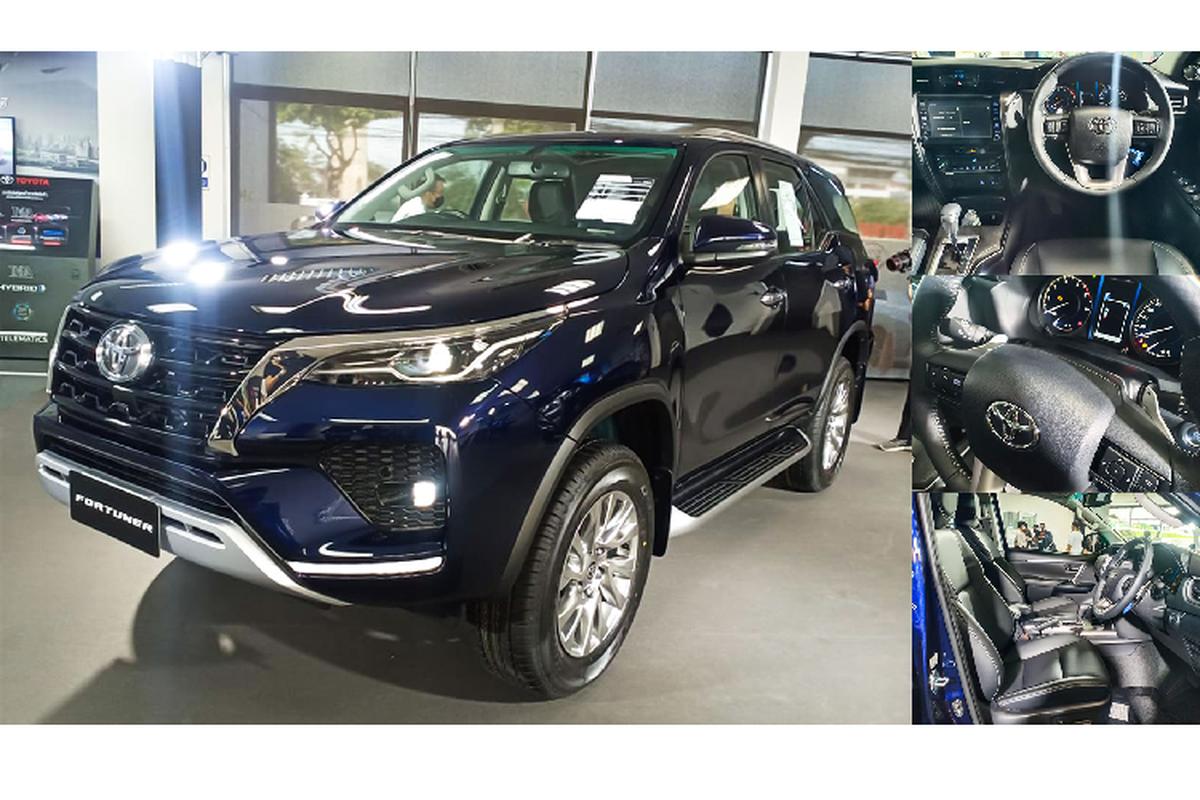 Toyota Fortuner 2021 ban 2.4 tieu chuan bi che it trang bi?