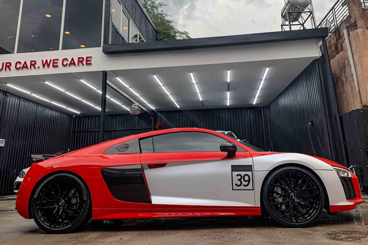 Audi R8 V10 Plus cua tay choi Sai Gon do phong cach sieu chat-Hinh-4