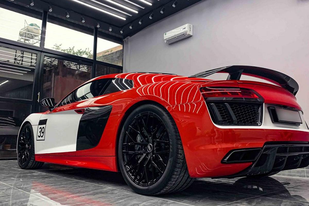 Audi R8 V10 Plus cua tay choi Sai Gon do phong cach sieu chat-Hinh-7