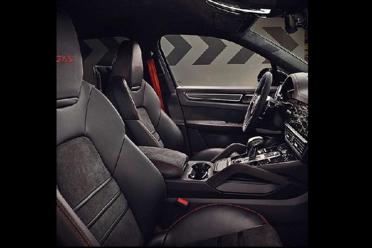 Porsche Cayenne Coupe GTS 2021 moi lo dien truoc gio G-Hinh-4