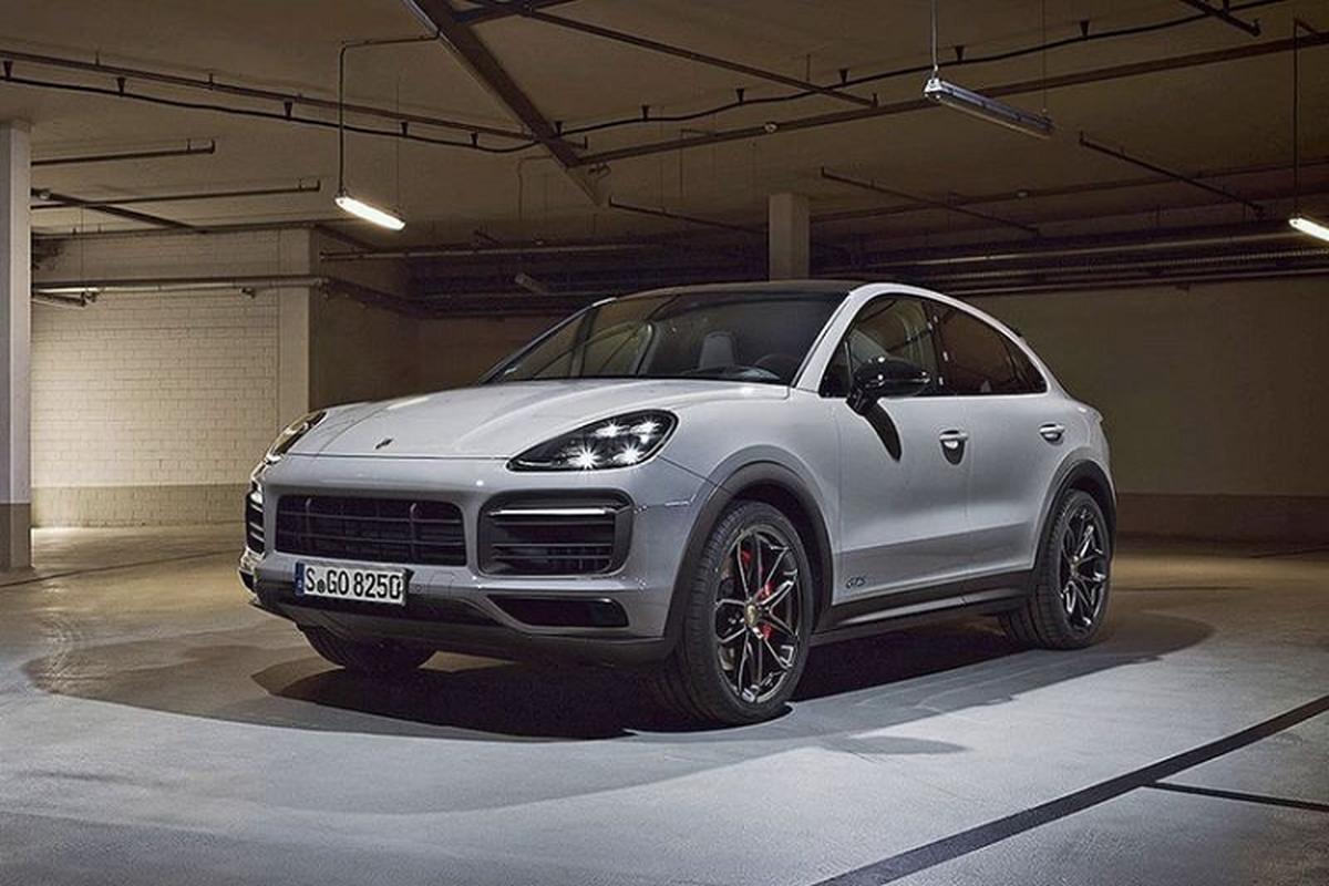 Porsche Cayenne Coupe GTS 2021 moi lo dien truoc gio G