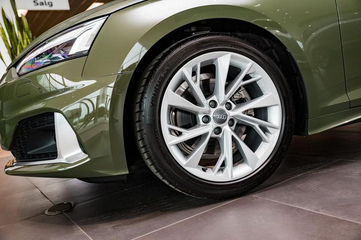 Audi A5 Sportback 2020 lich lam voi ngoai that xanh quan doi-Hinh-3