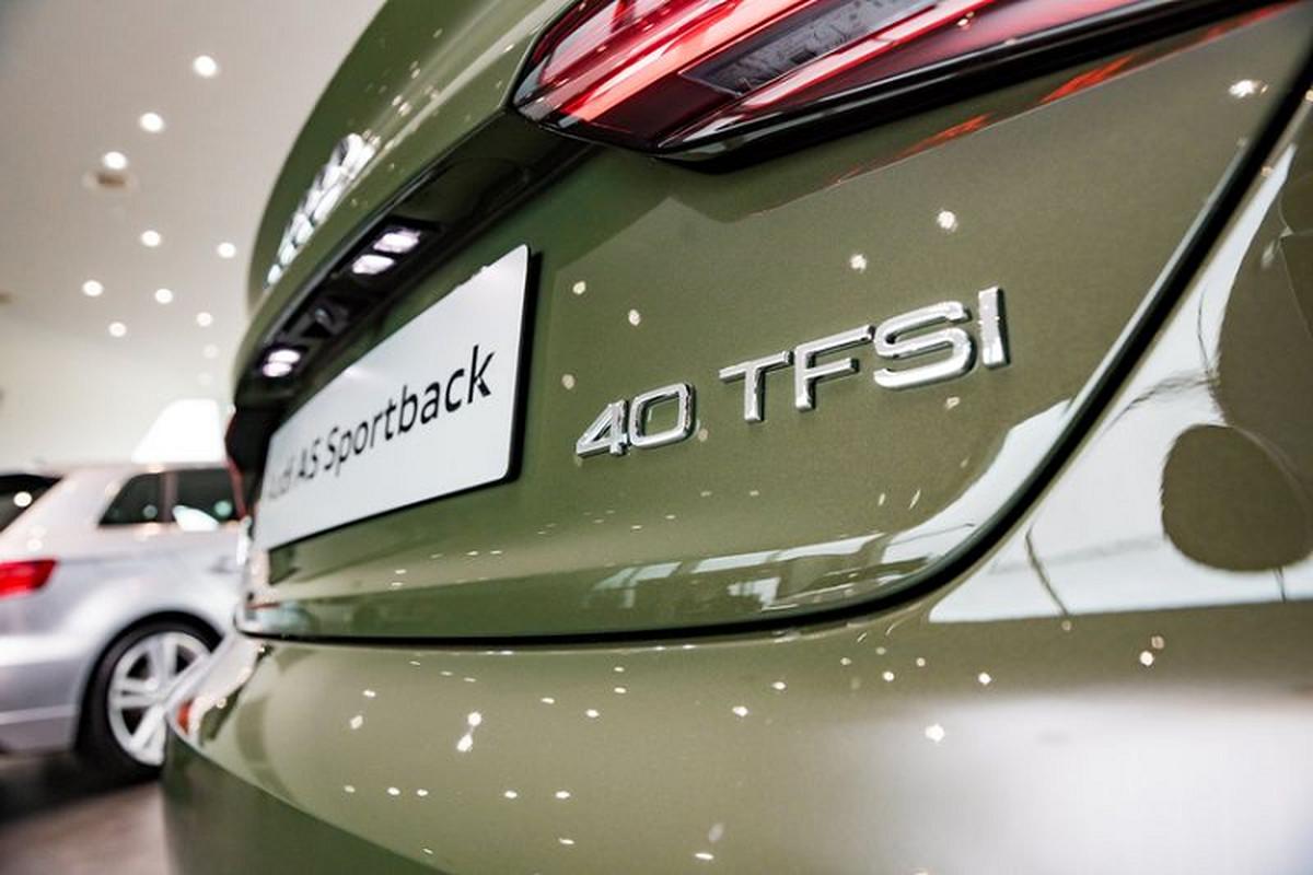 Audi A5 Sportback 2020 lich lam voi ngoai that xanh quan doi-Hinh-4