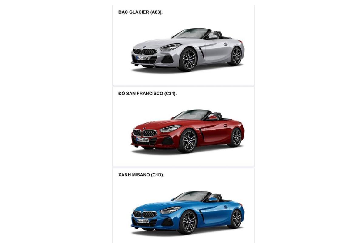BMW Z4 2020 chinh hang ban ra khoang 3,3 ty tai Viet Nam-Hinh-3