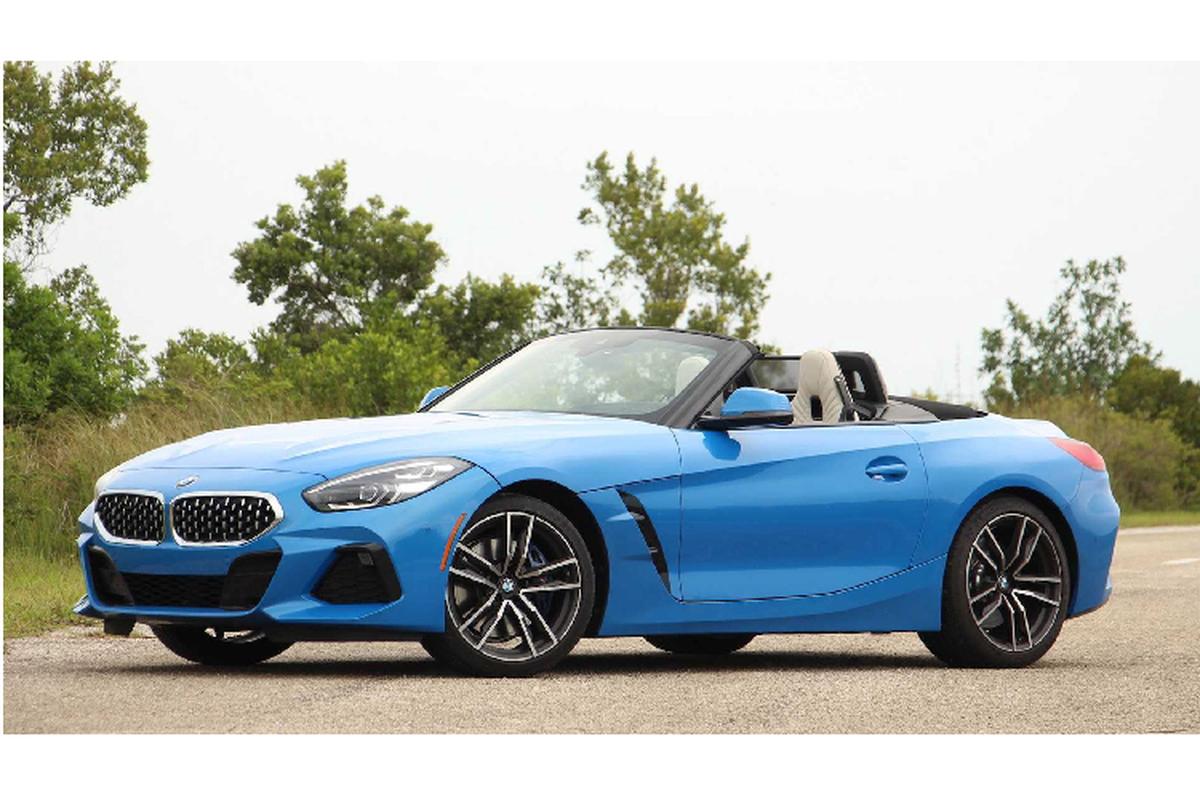BMW Z4 2020 chinh hang ban ra khoang 3,3 ty tai Viet Nam