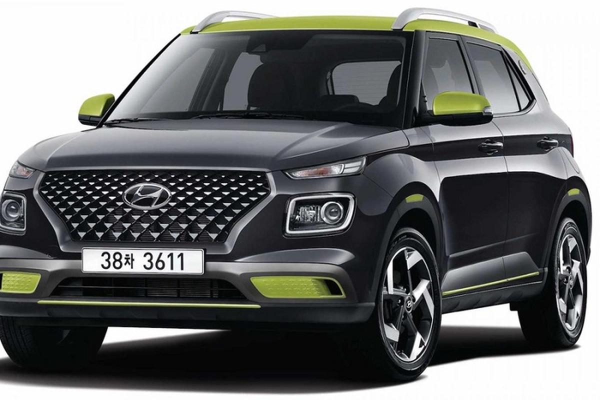 Hyundai Venue FLUX moi tu 414 trieu dong tai Han Quoc