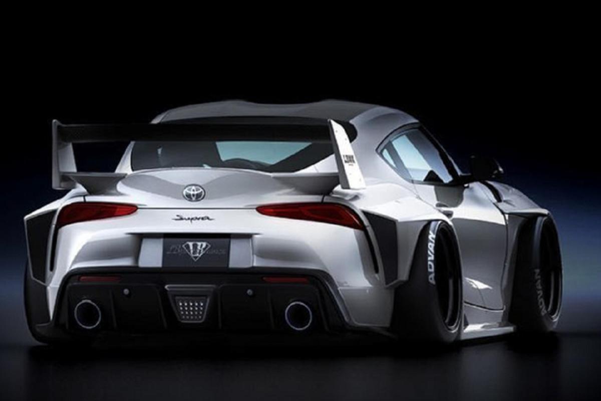 Can canh Toyota GR Supra 2021 dau tien do Liberty Walk-Hinh-6