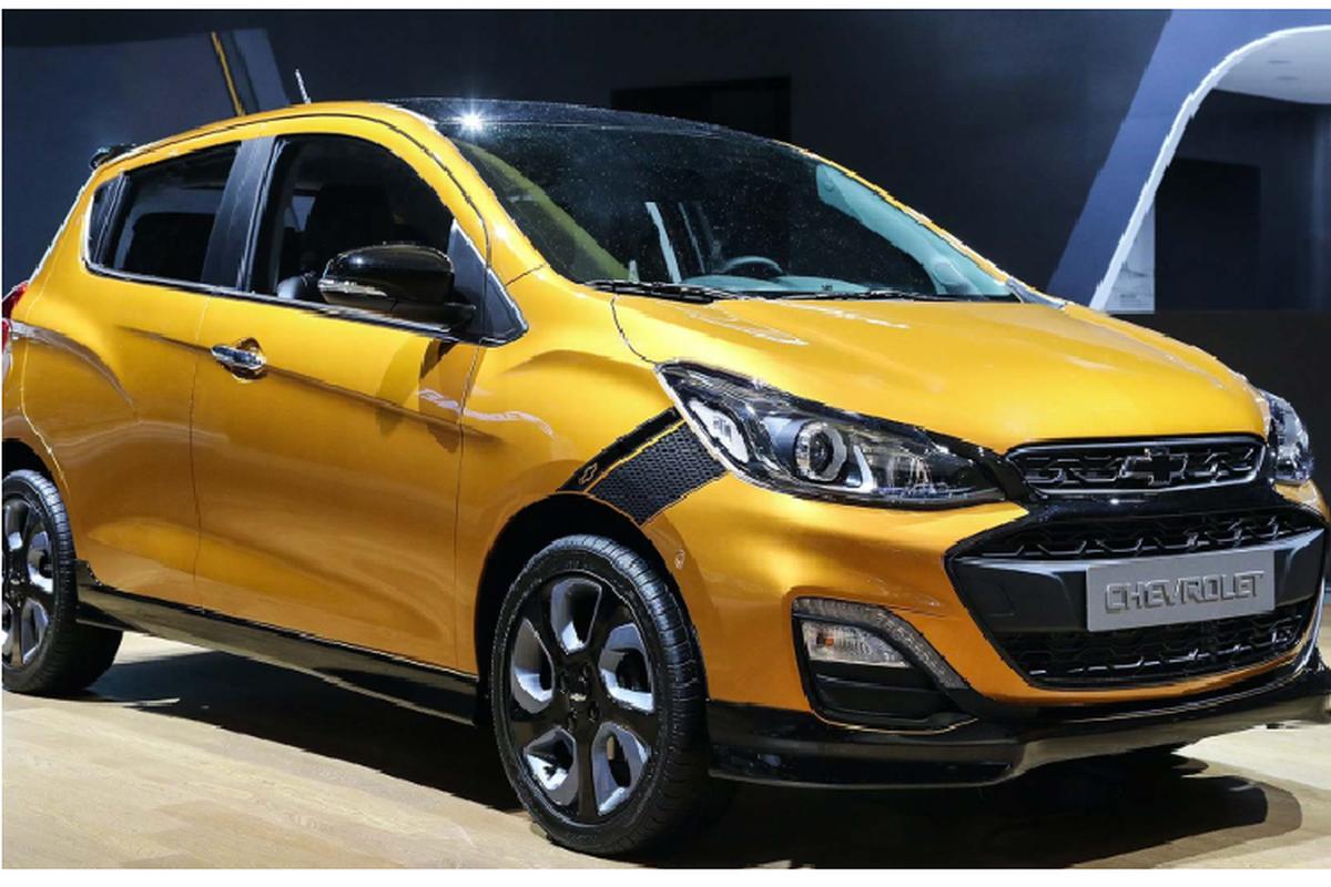 Chevrolet Spark 2021 gia re tu 192 trieu dong tai Han Quoc