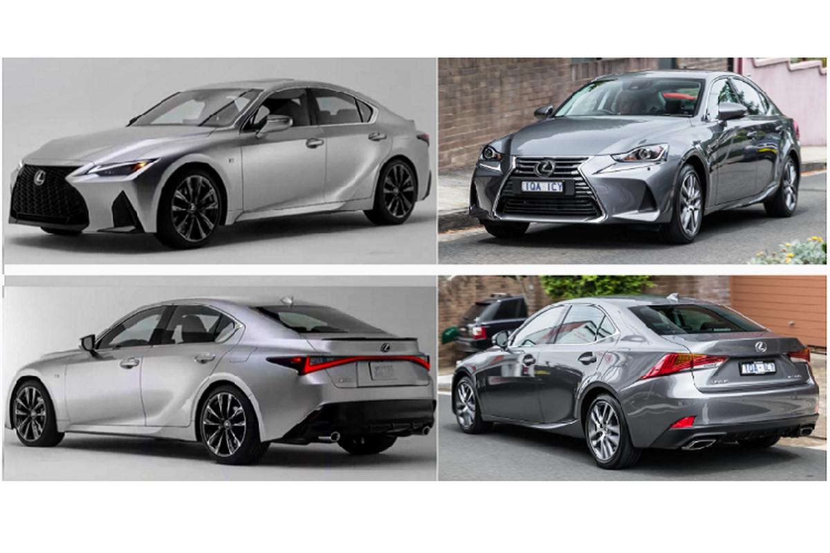 Lexus IS 2021 the he moi lo dien truoc them ra mat-Hinh-2