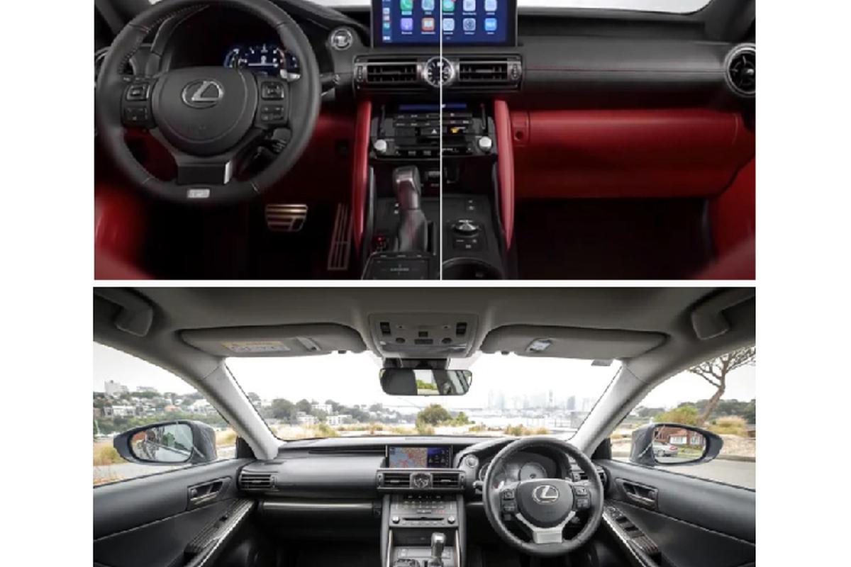 Lexus IS 2021 the he moi lo dien truoc them ra mat-Hinh-3