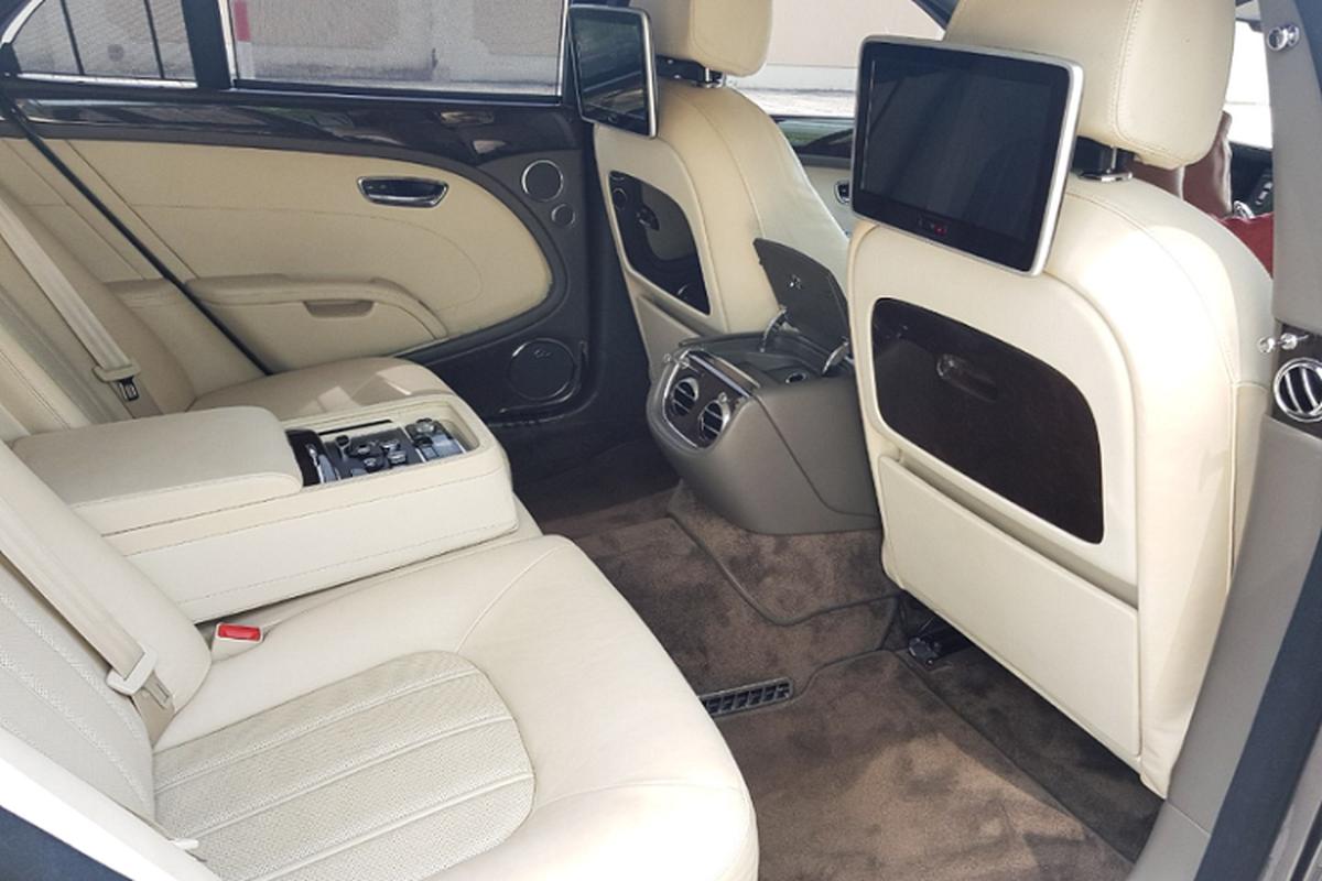 Chu xe Bentley Mulsanne