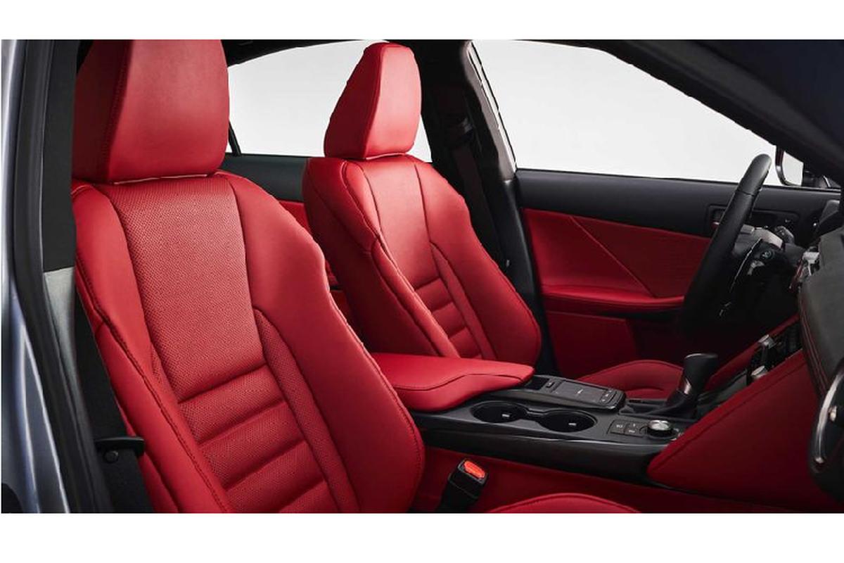 Ra mat Lexus IS 2021 moi canh tranh BMW 3 Series-Hinh-3