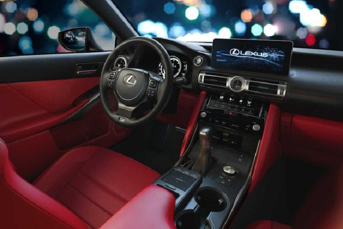 Ra mat Lexus IS 2021 moi canh tranh BMW 3 Series-Hinh-5