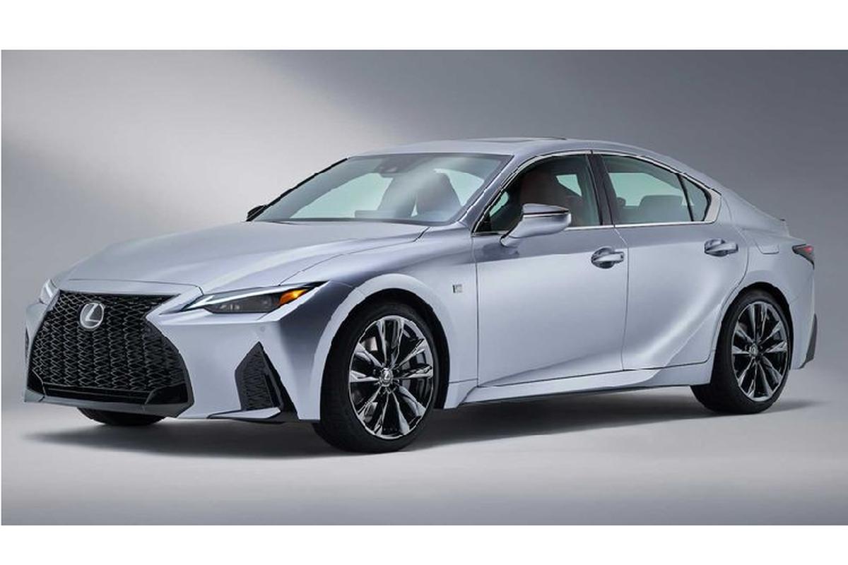 Ra mat Lexus IS 2021 moi canh tranh BMW 3 Series-Hinh-7